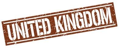United Kingdom stamp. United Kingdom square grunge sign isolated on white. United Kingdom vector illustration