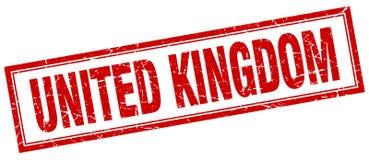 United Kingdom stamp. United Kingdom square grunge stamp. United Kingdom sign. United Kingdom royalty free illustration
