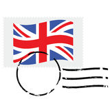 United Kingdom stamp Stock Image