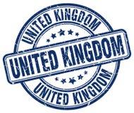 United Kingdom stamp. United Kingdom round grunge stamp isolated on white background. United Kingdom vector illustration