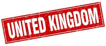 United Kingdom stamp. United Kingdom square grunge stamp. United Kingdom sign. United Kingdom stock illustration