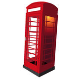 United Kingdom Telephone Booth Stock Photos
