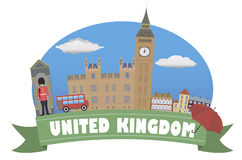 United Kingdom. Tourism and travel Royalty Free Stock Photography