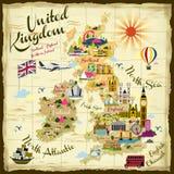 United Kingdom travel concept Stock Photos