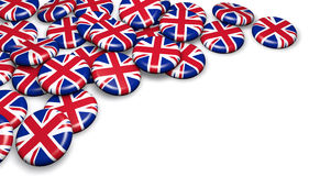 United Kingdom UK Badges Royalty Free Stock Images
