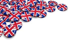 United Kingdom UK Badges Royalty Free Stock Images