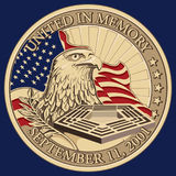 United in Memory, September 11, 2001 Coin royalty free stock photos