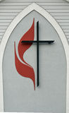 United methodist church logo. Image of a united methodist church logo Stock Image