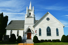 United Methodist Church stock photo