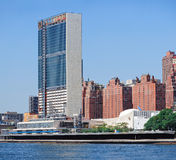 United Nation Complex in New York City Stock Photography