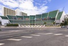 United Nation ESCAP building. BANGKOK , THAILAND - July 3, 2015: United Nation ESCAP. United Nation ESCAP is located in Bangkok, one of the five regional Royalty Free Stock Photos