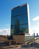 United Nation Headquarter in NYC. United Nation Headquarter in New York city Royalty Free Stock Images