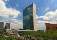 The United Nation Headquarter Plaza Royalty Free Stock Photography