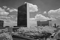 The United Nation Headquarter Plaza Stock Image