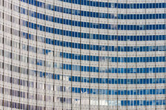 United Nations building close up Vienna. Shot in Austria, Vienna, 22nd district, close to United Nations Stock Images