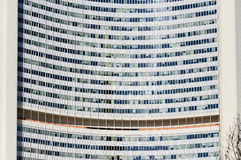 United Nations building close up Vienna. Shot in Austria, Vienna, 22nd district, close to United Nations Royalty Free Stock Photos