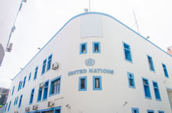 United Nations building at Male. Maldives Royalty Free Stock Photography