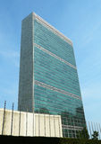 The United Nations building in Manhattan Stock Image