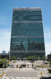 United Nations Building in New York Royalty Free Stock Photo