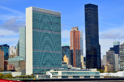 United Nations building Royalty Free Stock Images