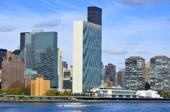 United Nations building Stock Image
