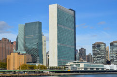 United Nations building Royalty Free Stock Image