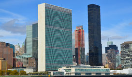United Nations building Stock Photo
