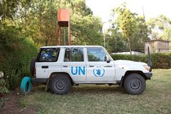 United Nations car Stock Photography