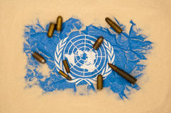 United Nations in danger Stock Photography