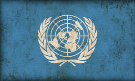 United Nations Flag Stock Photography