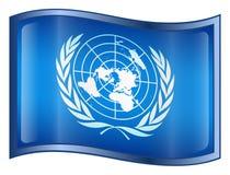 United Nations Flag Icon Stock Photo