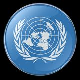 United Nations Flag Icon Royalty Free Stock Photos