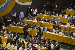 United Nations General Assembly in New York Stock Photos