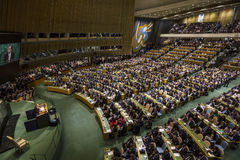United Nations General Assembly in New York Stock Images