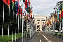 United Nations, Geneva Stock Photography