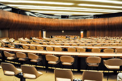 United Nations, Geneva. Conference room Royalty Free Stock Photos