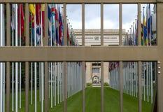 United Nations Geneva. The United Nations Office at Geneva & x28;Switzerland& x29 Stock Images