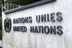 United Nations Geneva. The United Nations Office at Geneva & x28;Switzerland& x29 Royalty Free Stock Image