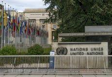 United Nations Geneva Royalty Free Stock Photography
