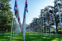 United Nations in Geneva Royalty Free Stock Images