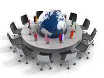 United Nations global politik, diplomati, strate Royaltyfri Fotografi