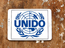 United Nations Industrial Development Organization, UNIDO logo Royalty Free Stock Images
