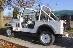 United Nations Jeep Royalty Free Stock Images