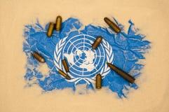 United Nations no perigo fotografia de stock