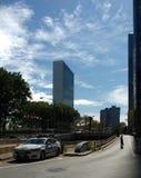 United Nations, NYC, NY, EUA Foto de Stock Royalty Free