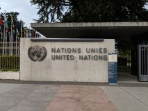 United Nations Office stock photography