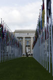 United Nations Office at Geneva in Switzerland Stock Photography