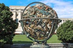 United nations organization. Geneva. Switzerland. United nations organization in Geneve. Policy. Political. The world`s hope. Political arena Royalty Free Stock Photos