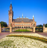 United Nations Peace Palace in The Hague, Holland Royalty Free Stock Photography