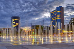 United-Nations place, Geneva, Switzerland, HDR Stock Images